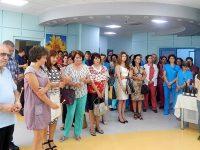 """Университетска болница """"Света Марина"""" – Плевен отбеляза празника си с тържествен водосвет"""