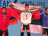 Щангист от Червен бряг с титла от Европейското в Милано