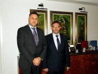Областният управител Мирослав Петров прие днес районния мюфтия Мурад Бошнак