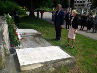 """В Плевен отбелязаха 74 години от гибелта на десетимата евреи, загинали при палежа на концлагера в """"Кайлъка"""""""