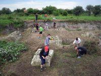 Продължават археологическите проучвания на крепостта и митница Димум в Белене