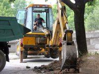Продължават текущите ремонти на улици в Плевен
