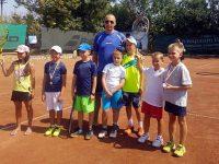 В Плевен се проведе Регионално първенство по тенис за момчета и момичета до 8 години