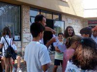 Забавни викторини и работа с екоматериали събраха десетки деца пред читалището в Садовец