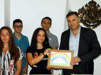 Областният управител Мирослав Петров се срещна с деца, участници в Национален диабетен лагер