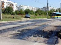 Ремонтите на улици и шахти в Плевен продължават