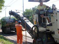 Текущите ремонти на улици в Плевен продължават по график