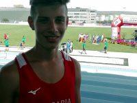 Плевенчанинът Виктор Вангелов със силно представяне на Европейските детски атлетически игри в Бърно