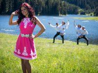 """Професионална танцова формация """"Плевен"""" се включи в новите клипове на фолкпевицата Валя (видео)"""