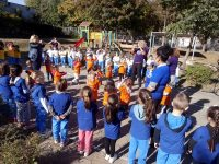 """Много движение и игри за Европейския ден на спорта в училище в ДГ """"Първи юни"""" – Плевен (галерия)"""