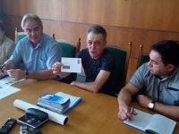 Валидират пощенска картичка за 80 години Филателно дружество – Плевен