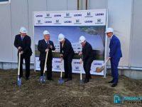 """Направиха първа копка на завода на """"Леони"""" в Плевен, инвестицията е за 32 млн. евро /фотогалерия/"""