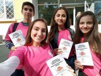 """Доброволци от БМЧК – Плевен стартираха поредица обучения по проект """"Заедно срещу насилието в училище"""""""
