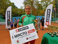 """Йоана Константинова е №1 в схемата на Мастърс турнира """"За наградите на SPORT DEPOT"""""""
