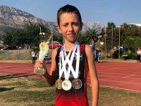 Плевенски лекоатлет с отлично представяне на турнир в Черна гора