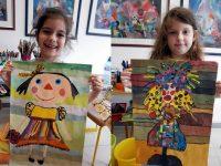 """Два златни медала за деца от Артшкола """"Колорит"""" – Плевен от конкурс в Румъния"""