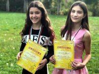 """Още два медала за деца от Вокална група """"Арлекино"""" – Плевен"""