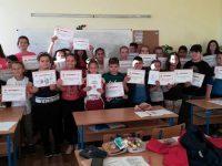 Млади червенокръстци проведоха в Пордим урок за превенцията срещу насилието в училище