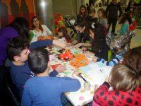 Деца майсториха страховита украса за Хелоуин в Панорама мол Плевен (галерия)