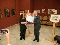 Княз Никита Лобанов – Ростовски днес дари на Плевен ценна историческа картина и четири оригинални литографии от 19-и век.