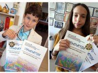 """Награди за талантите на арт школа """"Колорит"""" от международен конкурс"""