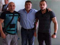 Депутатът Пламен Тачев с поредно дарение за спортист