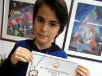 """Дете от Артшкола """"Колорит"""" – Плевен – бронзов медалист от конкурс в Япония"""