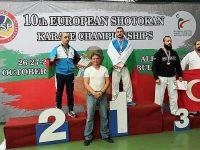 """КБИ """"Петромакс"""" – Плевен с куп медали от Европейското по шотокан карате"""