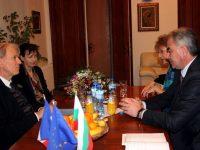 Посланикът на Франция се срещна с кмета Георг Спартански