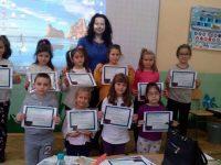 """Награди за ученици на ОУ """"Д-р Петър Берон"""" – Плевен от творчески конкурс"""