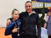 Състезателка по борба от Долна Митрополия със златен медал от международен турнир