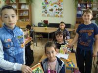 """В ОУ """"Максим Горки""""- Левски проведоха инициативи, посветени на книгите и четенето"""