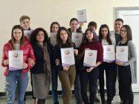 Езикова гимназия – Плевен с 11 класирани ученици на национален кръг на Многоезичното състезание