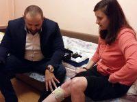 Плевенчанката Симона Цветанова вече има нужните й магнитни наколенки