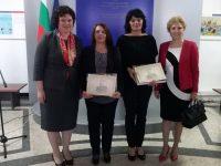 """Двама учители от Плевенско получиха днес награди """"Константин Величков"""" в МОН"""