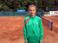 Йоана Константинова днес е на финал на Държавното лично първенство по тенис на закрито