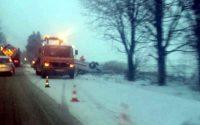 Пътни инциденти заради снеговалежа в Плевенско