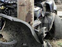 Солидно почерпен плевенчанин се заби с колата си в електрически стълб