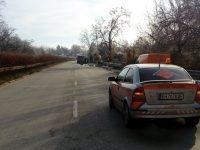 Повреда в бус доведе до пътен инцидент край Брестовец