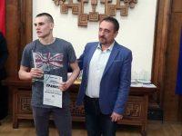 Добромир Николов бе избран за най-перспективен спортист до 18 години на Плевен за 2018 г.