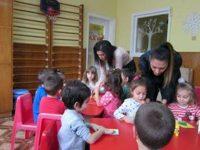 """Коледна еко работилница в ДГ """"Щастливо детство"""" – Плевен"""