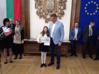 Роси Денчева е млад спортен талант №1 на Плевен за 2018 г.