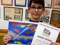 "Рисунка на дете от Артшкола ""Колорит"" – Плевен украси  календар в   Полша"