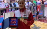 Великолепна Ивет Горанова със злато в Хърватска