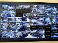 Ето как изглежда част от системата в Центъра за видеонаблюдение в Община Плевен