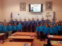 """В НУ """"Христо Ботев"""" – Плевен отбелязаха 171 години от рождението на своя патрон"""