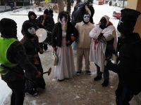 Кукери гониха злите сили в село Победа