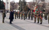 В Плевен посрещнахме 36-ти контингент на Българската армия, завърнал се от Афганистан /снимки/