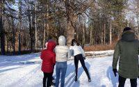 Зимни забавления и чаен пикник си устроиха плевенски ученици