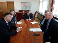 Областният управител Мирослав Петров се срещна с представители на ЧЕЗ